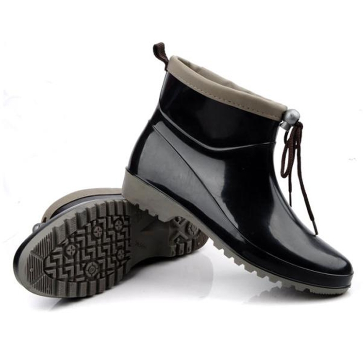 Fashion New Brand Rubber Ankle Rain Boots Women Rainboots Short ...