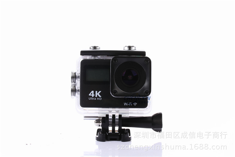 Action camera F65R Ultra HD 4k WiFi 1080p/60fps with 2.0 LCD 170D Lence