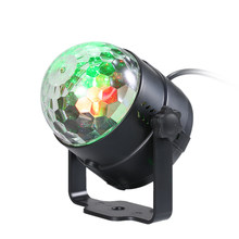 3W Rgb Stage Light Laser Projector Remote Control Mini Led Magic Ball Lamp Stage Effect Light Disco Club Bar Disco Beam Light(China)