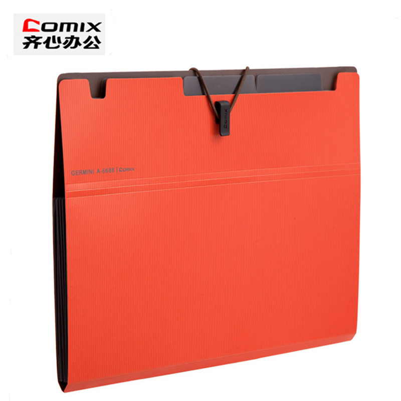 Expanding File,business document management folder,Office school supplies stationery,document a4 file folder padfolio deli 1pcs waterproof business a4 paper file folder bag high quality pu document rectangle office home school folder supplies