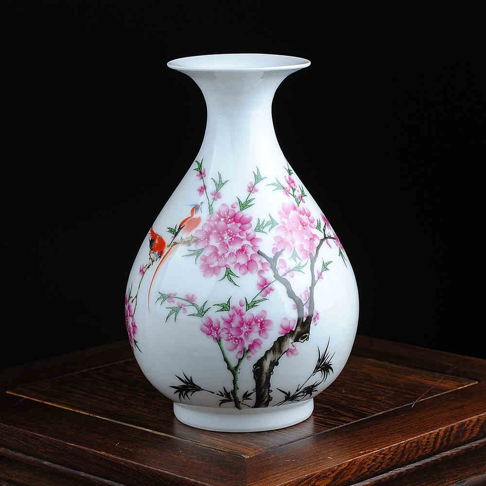 Free Shipping Mini delicate chinese famille rose porcelain flower - Home Decor - Photo 3