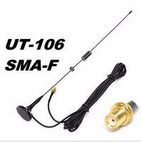5r bf UT-106UV אנטנה טוקי DIAMOND SMA-F UT106 עבור HAM רדיו Baofeng UV-5R BF-888S UV-82 אנטנה ארוכה UV-5RE (3)