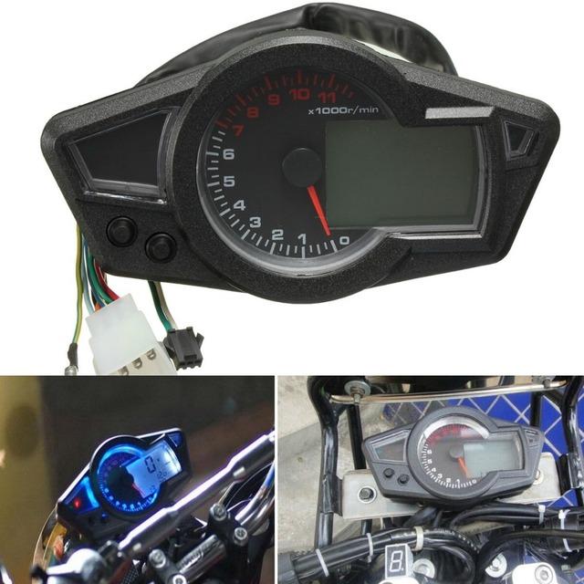velocímetro motocicleta odómetro Digital  tacómetro apto para 2 y 4 cilindros