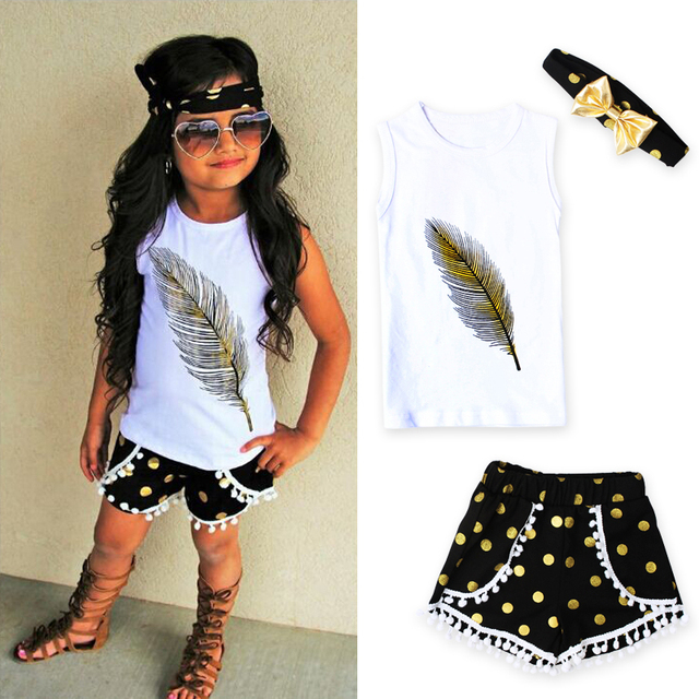 e95785039 Aliexpress.com   Buy 2017 Kid girls clothes Casual Clothing Sets ...