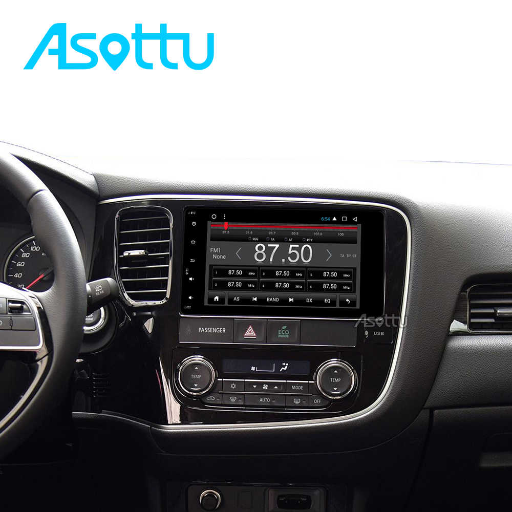 Asottu COLD7060 أندرويد 9.0 2G + 32G 8 الأساسية مشغل أسطوانات للسيارة راديو فيديو لتحديد المواقع والملاحة لميتسوبيشي أوتلاندر لانسر asx 2012 2013 2014