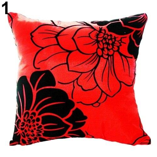 Home Sofa Bed Car Square Decorative Throw Pillow Case Cushion Cover