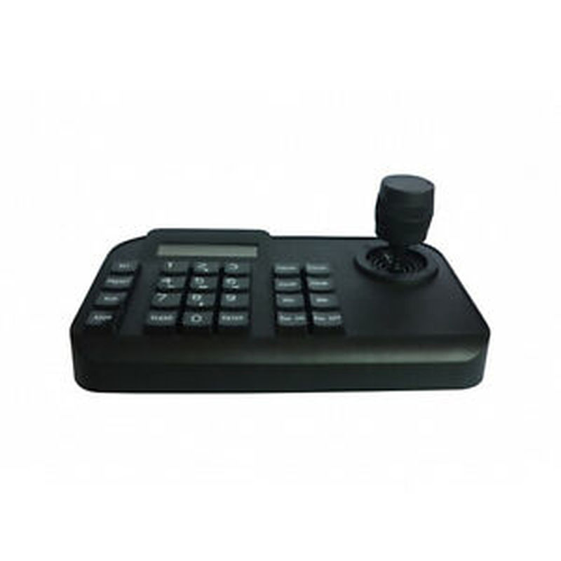 3D Joystick PTZ Camera Keyboard Controller RS485 PELCO D/PELCO P LCD Display|CCTV Control System| |  - title=