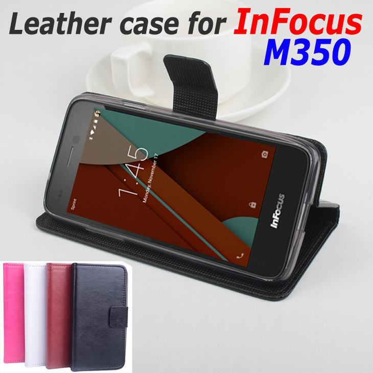 online store ffa86 5629b US $9.99 |Leather Case For InFocus M350 Flip Cover Case With Card Slot  housing For In Focus M 350 Leather Cover Case 5.0 inch Phone Cases on ...