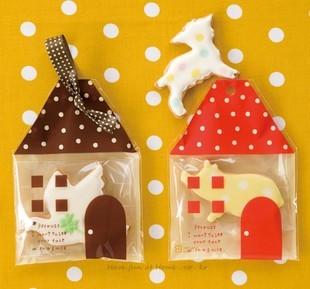 Zfd011 biscoito casa sacos de plástico auto - adesivo para biscoitos lanche pacote fermento 40 pc/lote 11 X 15 cm