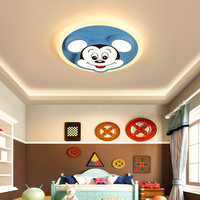 Cute Children Baby Kids Room Light Lighting Fixtures Modern Animal Mickey Kids Bedroom Light Ceiling Lamp For Girls Room Nursery