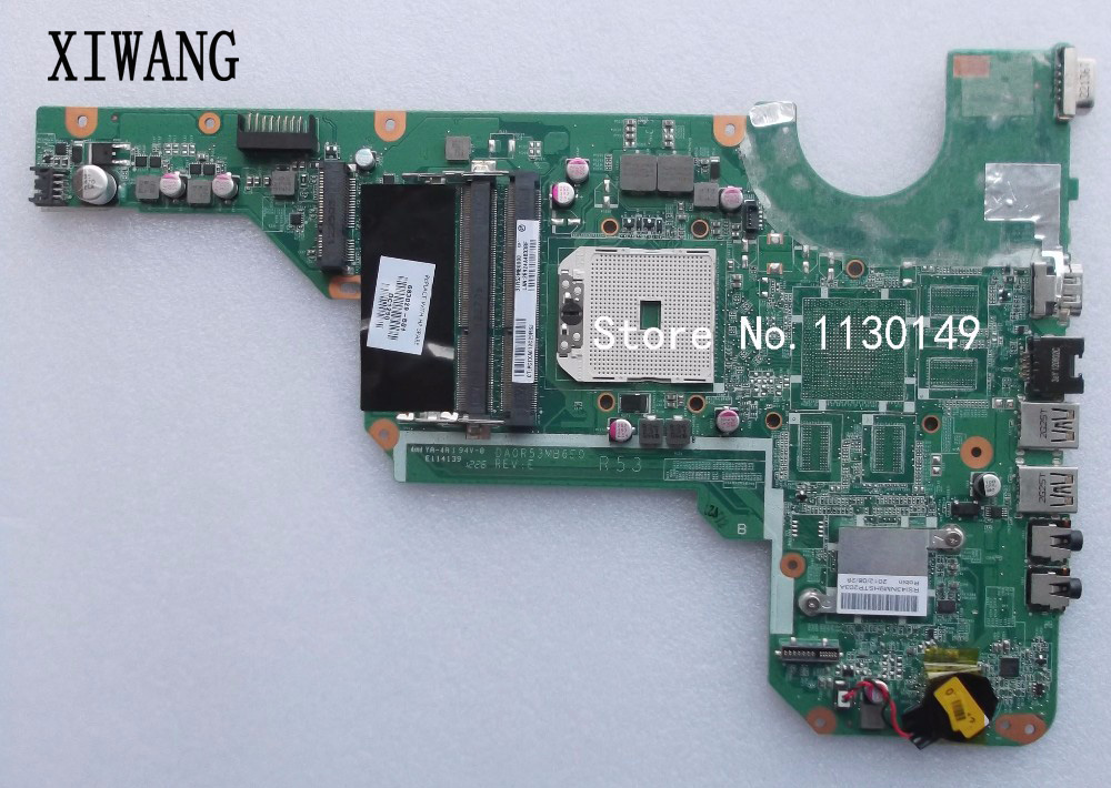 Free Shipping 683029-501 683029-001 for HP Pavilion G4-2000 G6 G6-2000 G7 Laptop Motherboard Mainboard DA0R53MB6E0 DA0R53MB6E1Free Shipping 683029-501 683029-001 for HP Pavilion G4-2000 G6 G6-2000 G7 Laptop Motherboard Mainboard DA0R53MB6E0 DA0R53MB6E1
