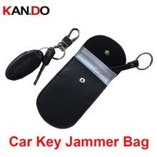Kan.Do 30pcs genuine leather remote car key sensor jammer