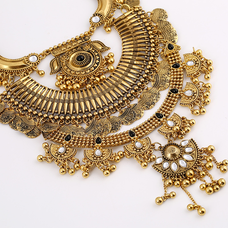 huge necklace watch harams with pendants haram gold locket big long of design latest designs