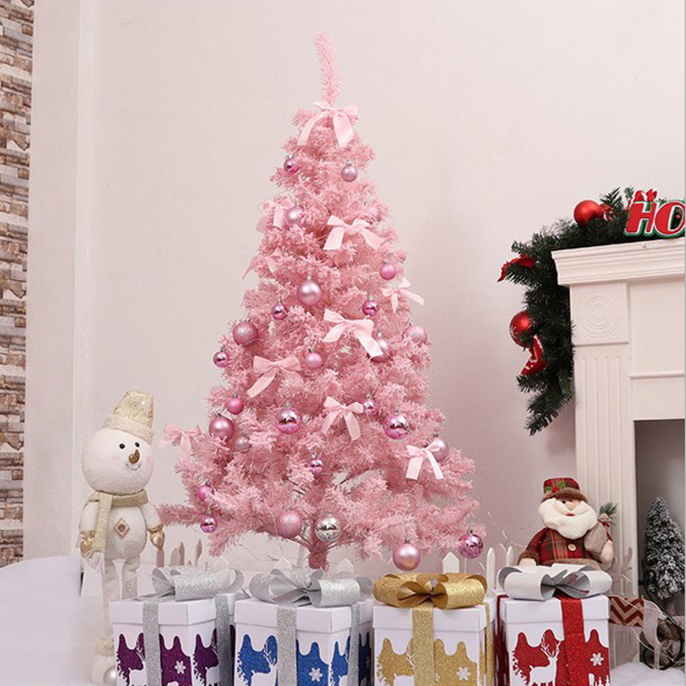 Pink Artificial Christmas Tree.2018 Pink Christmas Tree Artificial Christmas Tree Xmas Party Holiday Ornament Home Decor Office Decorations German Christmas Decorations German
