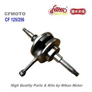 TZ-23 CF150 CH125 коленчатый вал CFMoto части 250cc/150cc CF MOTO ATV Quad китайский двигатель мотоцикла запасной двигатель Nihao