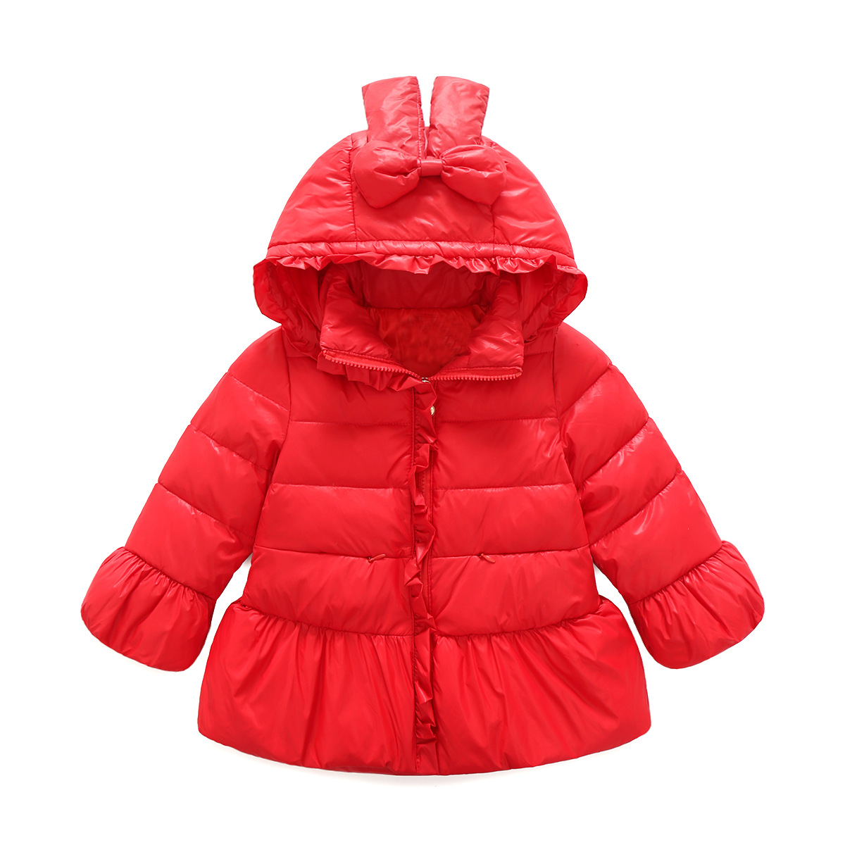 2017 Fashion Girls Winter Down Jacket Children Coats Warm Baby 100% Thick Duck Down Kids Outerwears for Cold -30 Degree Clothing fashion boys down jackets coats for winter warm 2017 baby boy thick duck down coat real fur children outerwears for cold winter