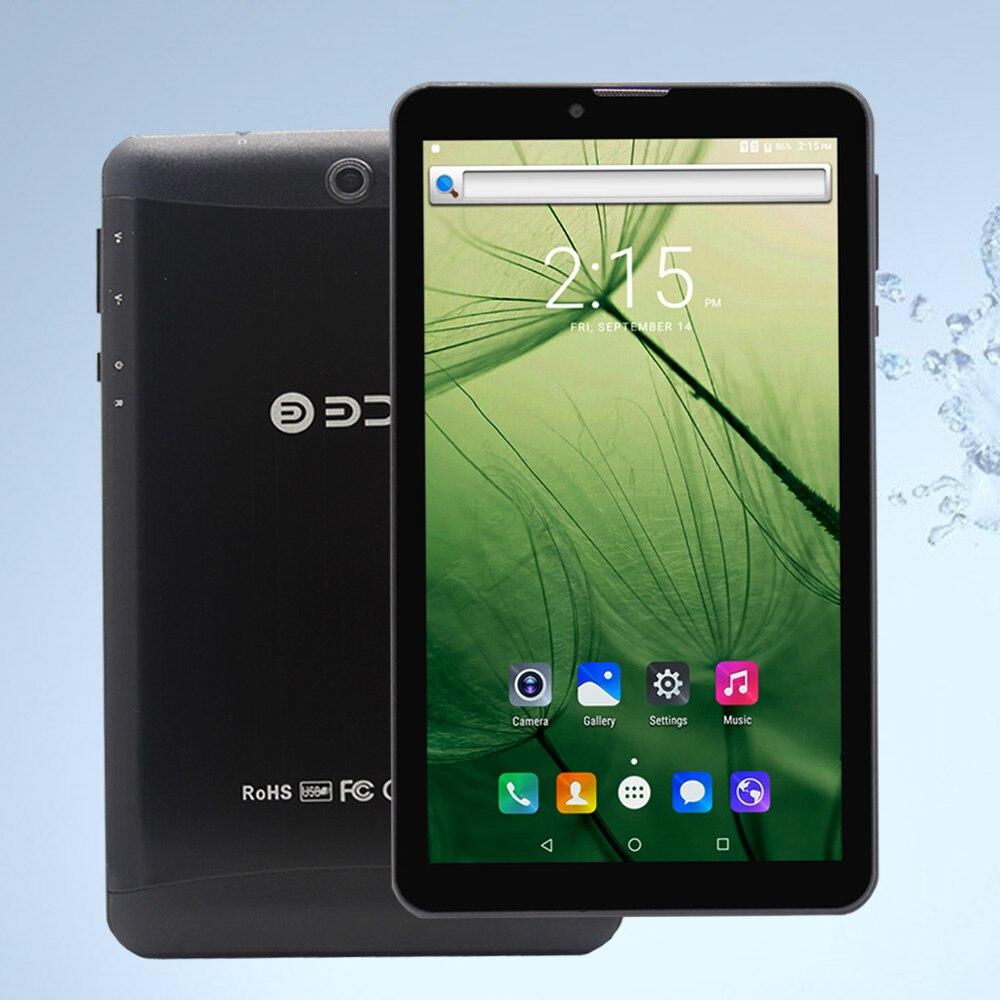 BDF New 7 Inch Android 6.0 3G SIM Card Phone Call Quad Core Tablet Pc 512M+8GB Dual Camera 2000mAh WiFi A708 Tablets Pc bdf a708 3g phablet