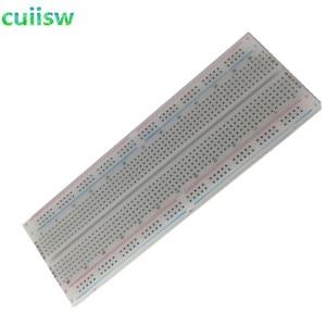 Image 2 - 10pcs NEW MB 102 MB102 Breadboard 830Point Solderless PCB Bread Board Test Develop DIY