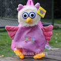 KIDS BACKPACK TIMMY TIME PLUSH TOY OTUS THE LITTLE NIGHT OWL SOFT DOLL BAG
