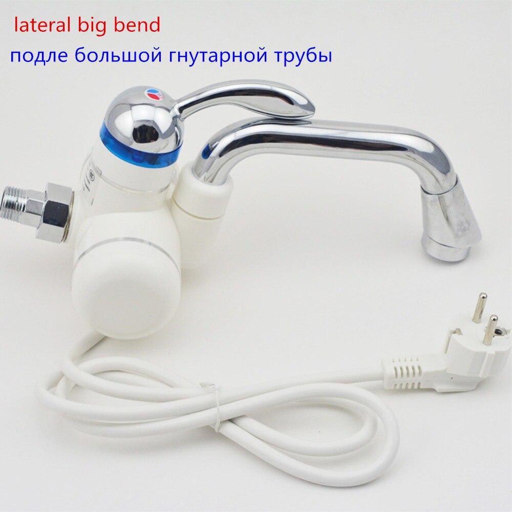 3sec instantané chauffe-eau électrique chauffe-eau robinet cuisine instantanée eau chaude douche Hod et froid double usage sans réservoir - 6