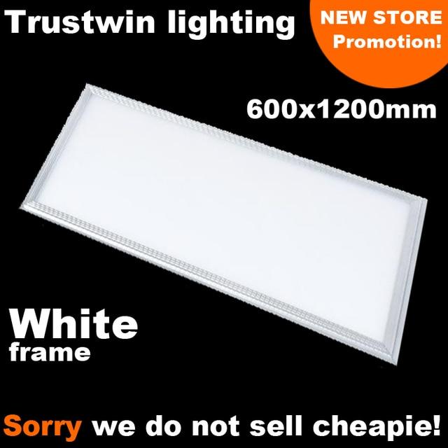 Marco blanco rectangular luz de techo ultra delgada LED 2x4 panel de ...