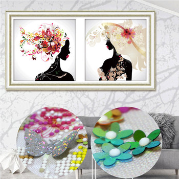 Special shaped stick drill painting Diamond Embroidery Picture 3D Diamond Painting cross-stitch Mosaic kits Wall art butterfly фото
