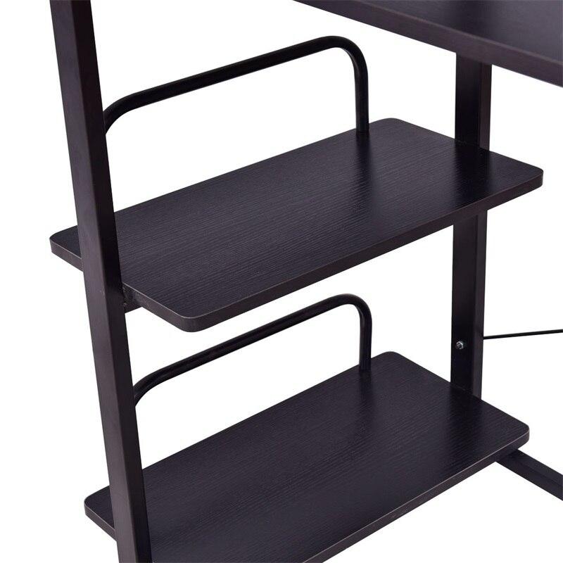 4 слоя деревянный компьютерный стол для ноутбука, письменным столом HW55453 - 5