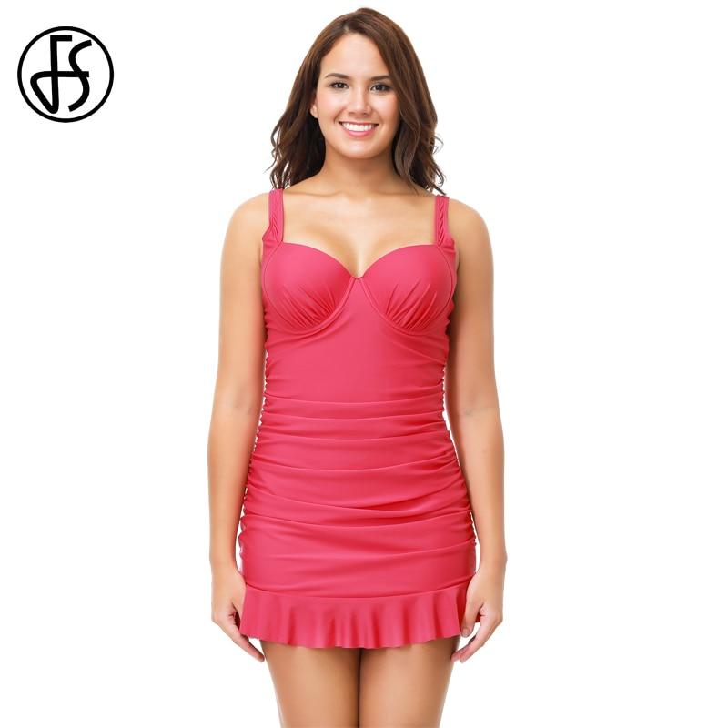 fs one piece swimsuit women plus size push up maillot de. Black Bedroom Furniture Sets. Home Design Ideas