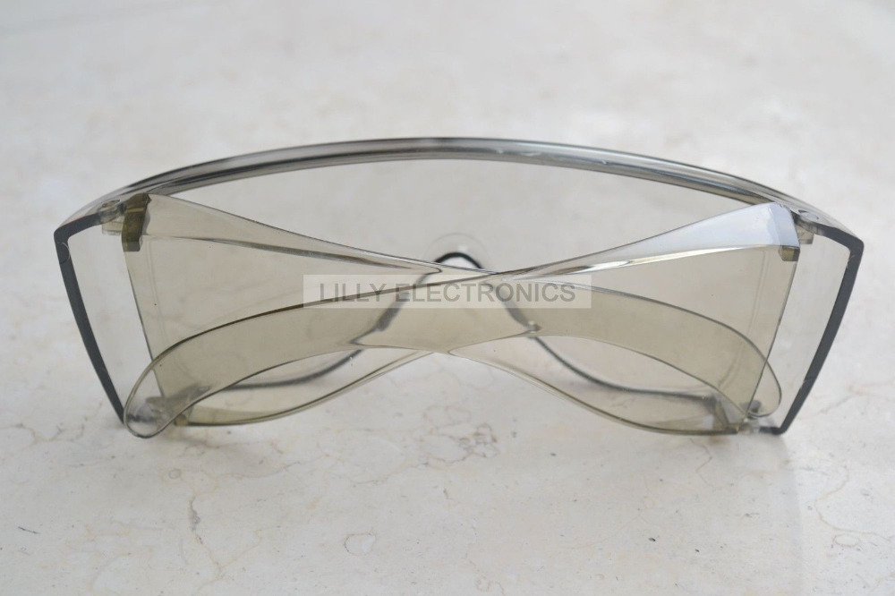 NEW Protection Goggles for CO2 Laser 10600nm 10.6um Glasses Absorption Type (TYPE2) new type co2 laser head