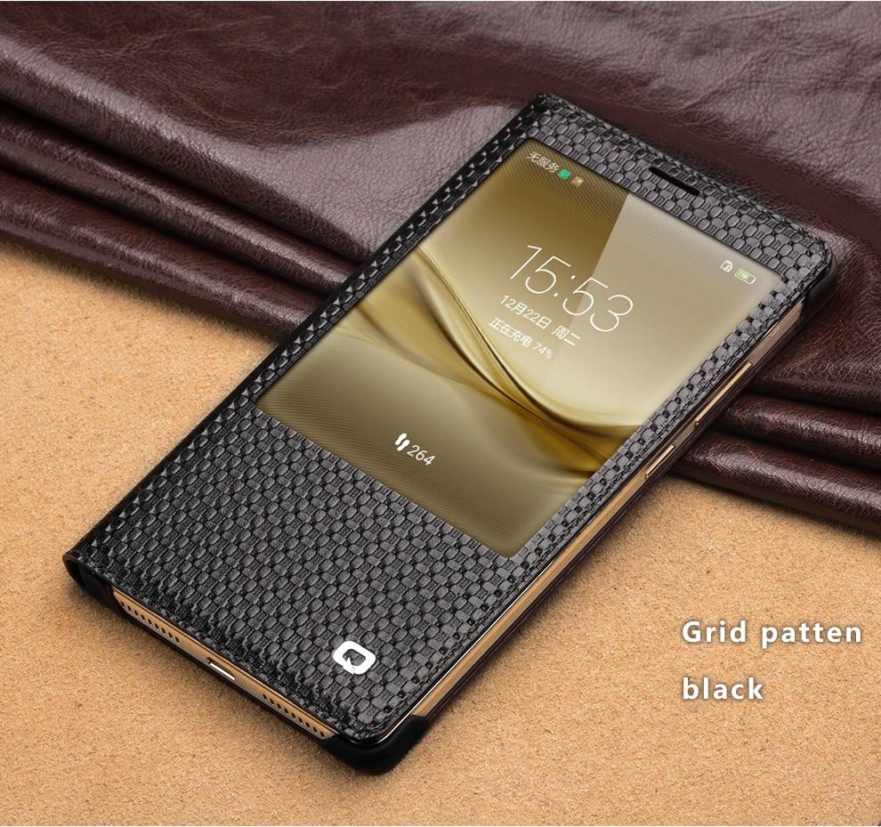 QIALINO 2016 Huawei Ascend Mate 8 Case Fashion Pattern Γνήσιο - Ανταλλακτικά και αξεσουάρ κινητών τηλεφώνων - Φωτογραφία 5