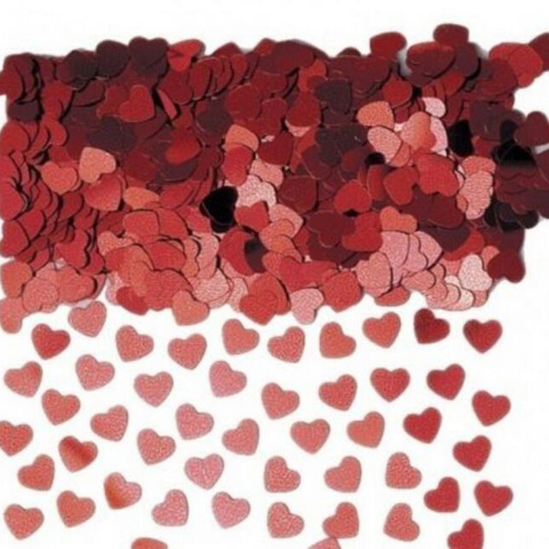 500pcs/lot Throwing Flowers Heart Paper Fragments Bed Spread Flower  Marriage room Adornment Wedding supplies 8zcx646-3