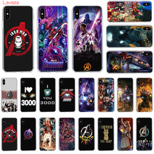 Lavaza MARVEL Iron Avenger Hard Phone Case for Apple iPhone 6 6s 7 8 Plus X 5 5S SE for iPhone XS Max XR Cover lavaza charli xcx hard phone case for apple iphone 6 6s 7 8 plus x 5 5s se for iphone xs max xr cover