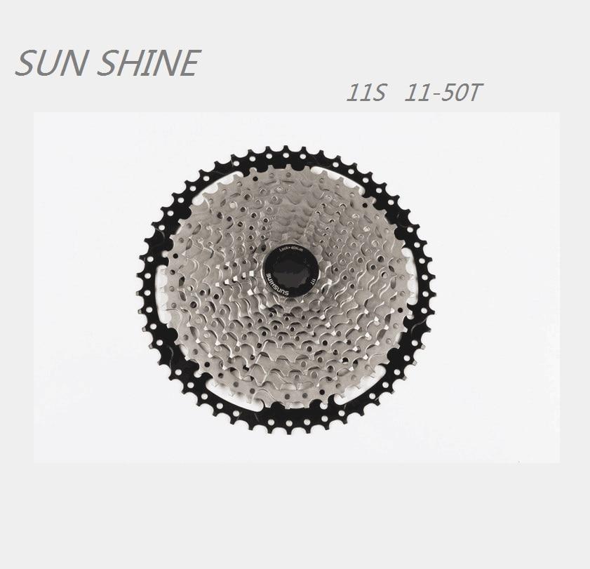 Sunshine Mtb 11 Speed Bike Cycling Freewheels Bicycle Flywheel 11t-50t Cassette Cassettes, Freewheels & Cogs