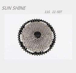 SUNSHINE kaseta Freewheel 11-50T 11 prędkości rower górski narzędzie MTB koło zamachowe rower część