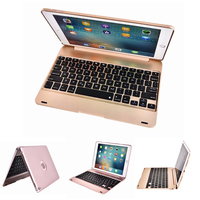9.7'' Keyboard Cover for iPad 2018 9.7 Cover with Keyboard A1893 A1954 Bluetooth Hard ABS for iPad 9.7 2018 Keyboard Case