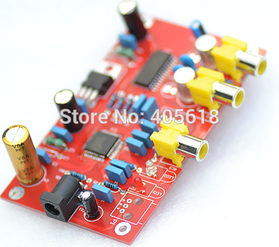 MINI fiber optique coaxiale TDA1305 DAC   Livraison gratuite