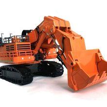 Удивительная литая игрушка модель подарок 1: 87 Hitachi EX8000 гидравлический экскаватор инженерное оборудование игрушка для сбора, украшения