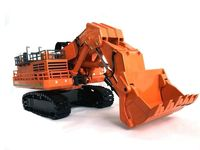 Amazing Diecast Toy Model Gift 1:87 Hitachi EX8000 Hydraulic Excavator Engineering Machinery Toy for Collection,Decoration