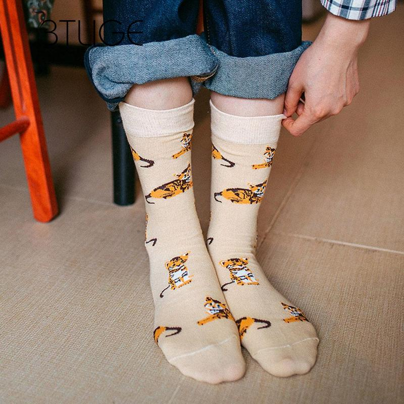 ef518dcdf Detail Feedback Questions about BTLIGE Long Sport Socks Men Women Lovely  Cat Dog Pig Animals Printed Socks Cotton Breathable Soccer Basketball Socks  Knee on ...