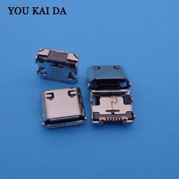 For Samsung c6752 C6712 S3350 S5570 Mini micro usb charge charging connector plug dock jack socket port dock power 7 pin