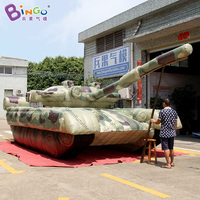8.8x3.5x2.5m Giant Inflatable military decoy tank, inflatable tank replica inflatable model inflatable toy