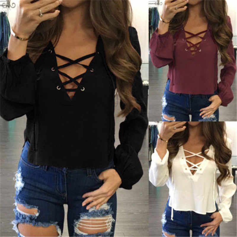 Модная женская блузка с повязкой, белая, черная, красная, из смеси хлопка, с длинным рукавом, Повседневная Блузка, топы размера плюс, рубашка, блузка, одежда