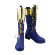 Nuevo mi héroe Academia Boku No Hero Academia Todoroki Shoto Anime Cosplay botas zapatos a la moda hecho a medida
