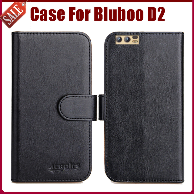 US $4 59 8% OFF Hot Sale! Bluboo D2 Case New Arrival 6 Colors High Quality  Flip Leather Protective Phone Cover For Bluboo D2 Case-in Flip Cases from