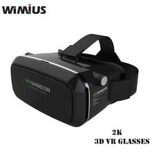 VRกล่อง360ดูที่สมจริงความจริงเสมือนแว่นตา3DของG Oogleกระดาษแข็งชุดหูฟังสำหรับIOS A Ndroid P honeภาพยนตร์เกม+ระยะไกลควบคุม