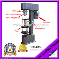 Elelctric Vertical Locking Machine Screw Capping Machine for bottles which made of glass/ plastic/Ceramic/PolyesterYSC