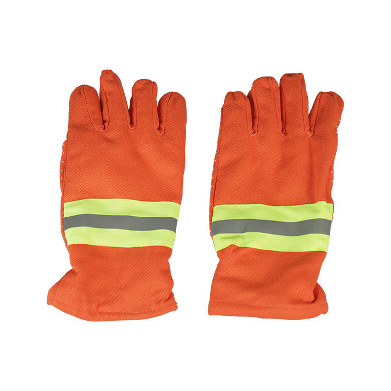 Fireman 97 Insulation Fire-retardant Protection Fireproof Non-slip Gloves Protective Safety Gloves Mini Fire Station Gloves