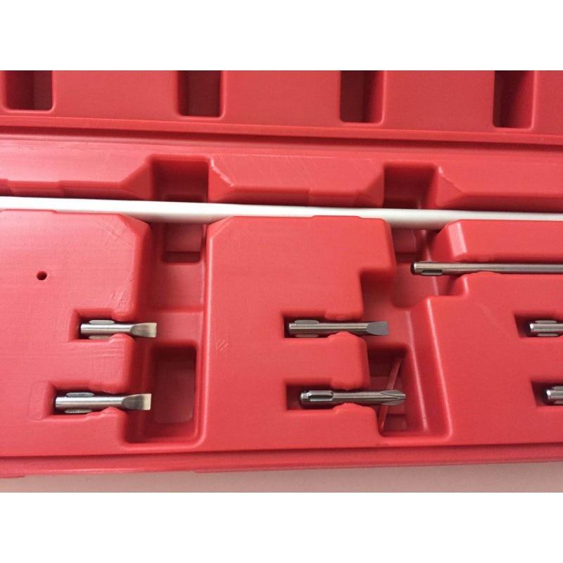 90 градусов коническая отвертка угловой Набор отверток для Moto инструмент для настройки карбюратора гаечный ключ - 2