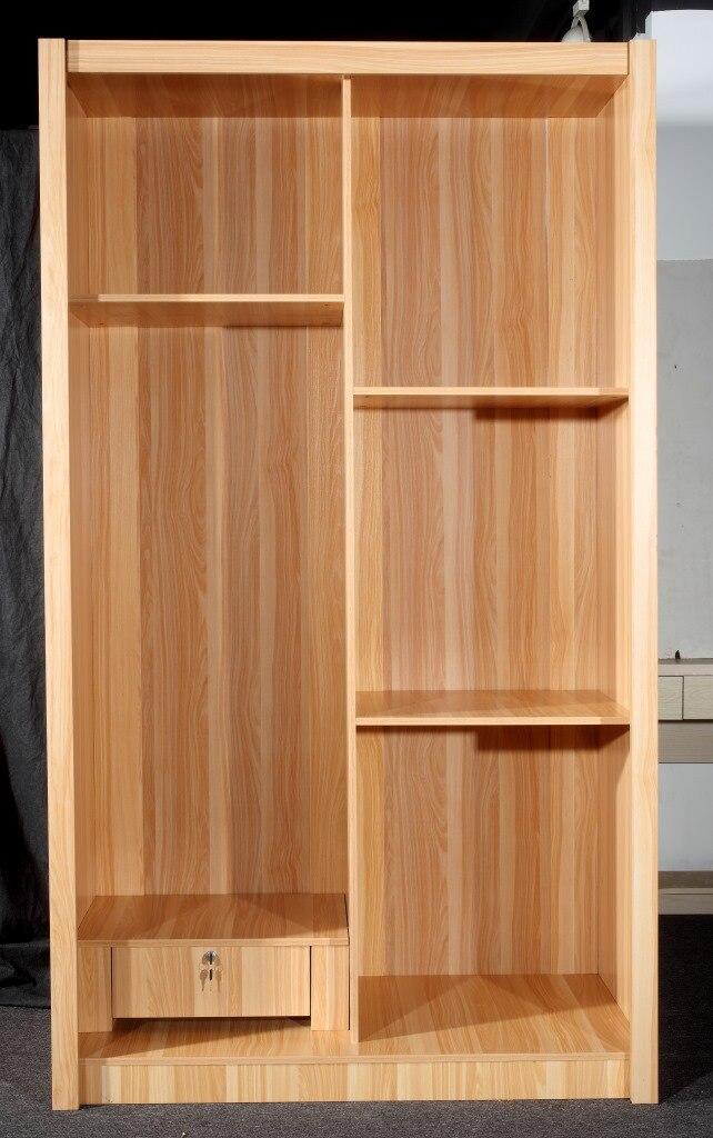 Simple muebles de madera maciza de madera ensamblada persianas ...