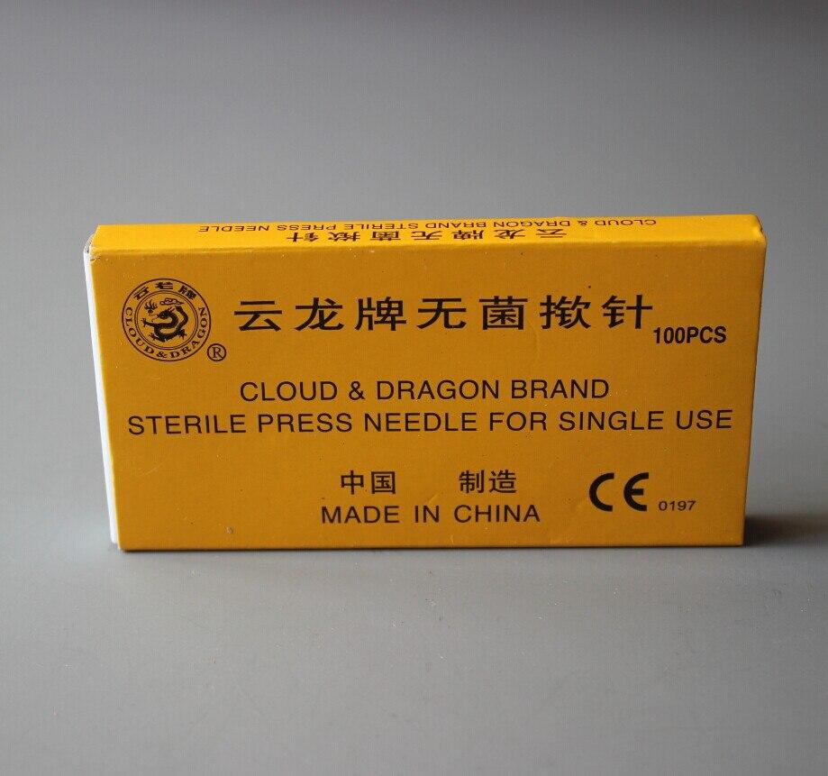 1000pcs Yunlong disposabl ear pressing needles intradermal needle ear acupuncture massage use